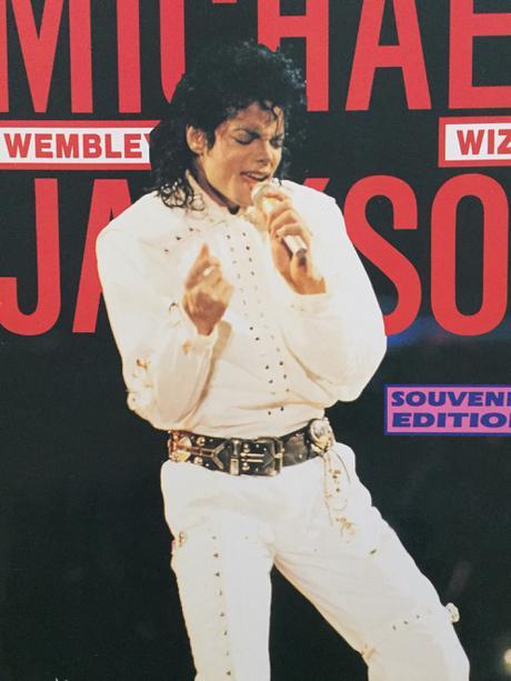 マイケルジャクソン ヨーロッパTOUR 洋書 ライブグッズの画像
