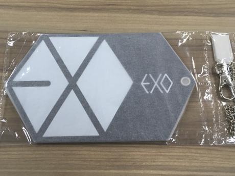 EXO EXO-L-JAPAN 継続特典 パスケース ライブグッズの画像