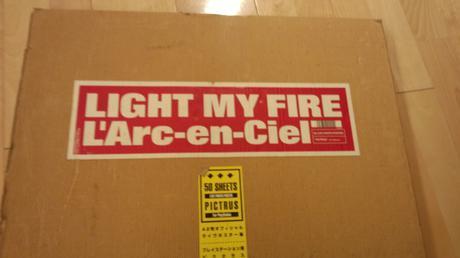 LIGHT MY FIRE(A2判オフィシャルライブポスター集) ライブグッズの画像