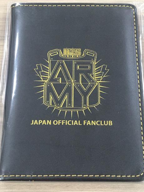 防弾少年団 FC継続特典 パスポートケース