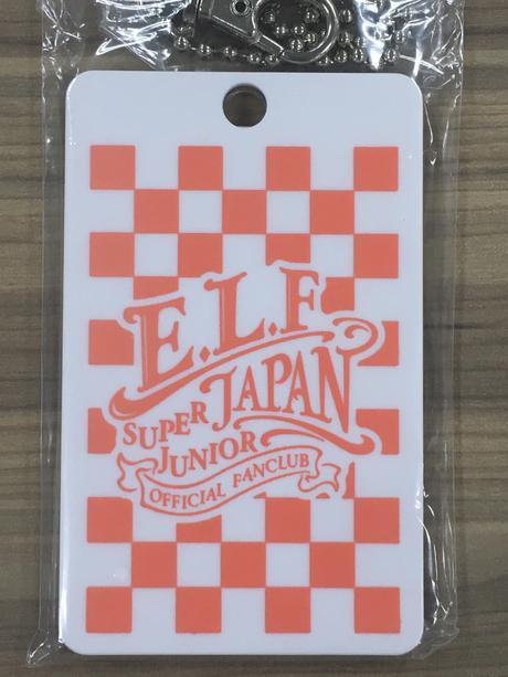 SUPERJUNIOR E.L.F-JAPAN 継続特典 会員証ケース