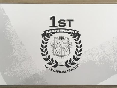 防弾少年団 FC特典 アニバーサリーカード