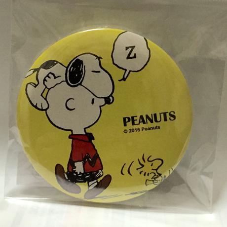 スヌーピー缶バッチ(チャーリーブラウン) グッズの画像