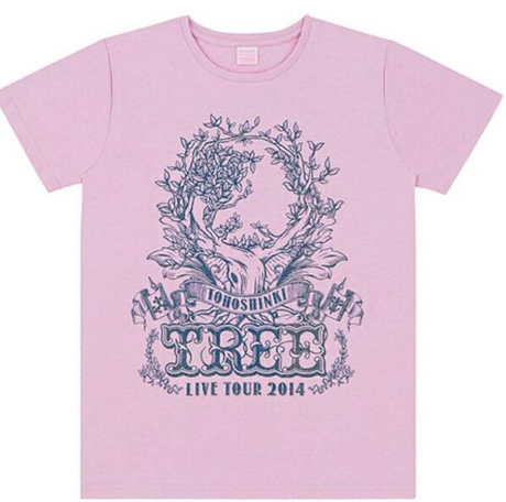 東方神起ライブツアー2014〜TREE〜Tシャツ