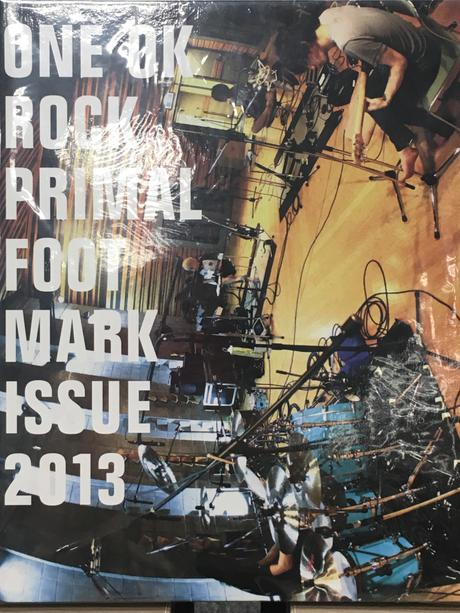 ONE OK ROCK PRIMAL FOOTMARK ISSUE 2013 ライブグッズの画像