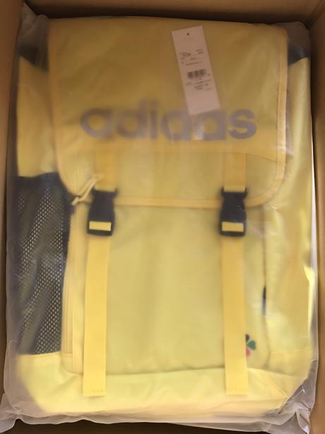ももクロ adidas neo 2.0 しおりん 黄色 リュック 新品 玉井詩織 ライブグッズの画像