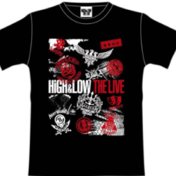 HIGH&LOW Tシャツ