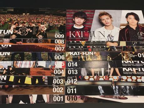 KAT-TUN FC会報 コンサートグッズの画像