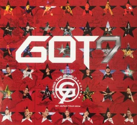 初回生産限定版 GOT7 AROUND THE WORLD 2014 ライブグッズの画像