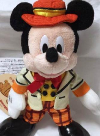 ディズニー ミッキー&カンパニー ミッキー ぬいぐるみバッジ
