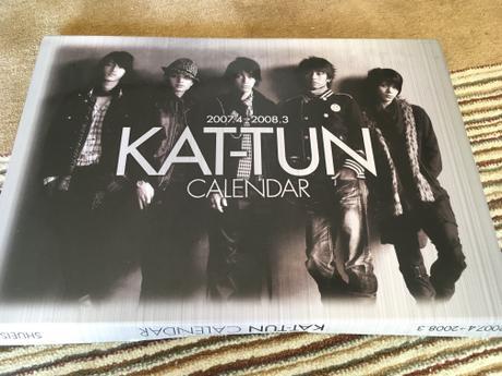 KAT-TUN 公式カレンダー(2007〜2008) コンサートグッズの画像