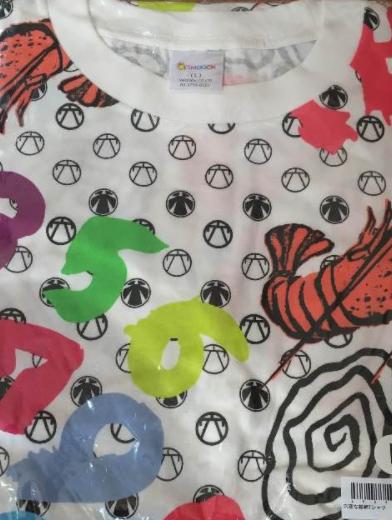 【エビ中】私立恵比寿中学 穴空総柄 Tシャツ