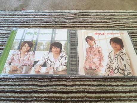 「キッス〜帰り道のラブソング〜」初回(CD+DVD )+通常盤2枚セット