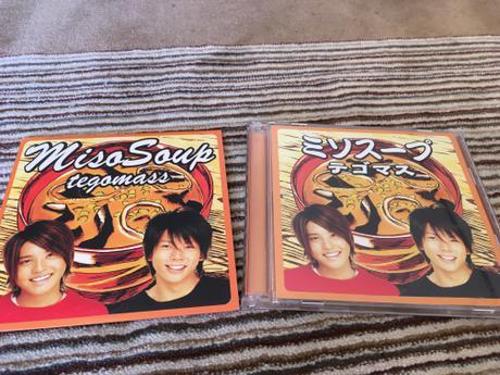 「ミソスープ」<初回限定盤>CD+DVD、英語版(スウェーデンで発売)2枚セット