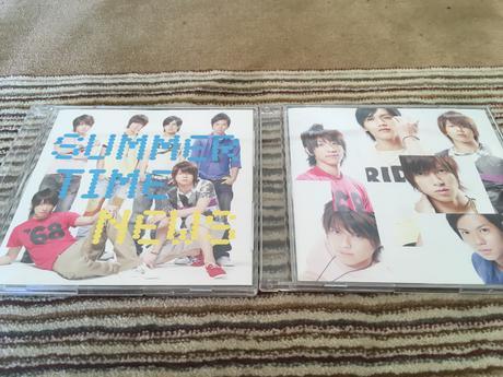 「SUMMER TIME」初回+通常盤2枚セット コンサートグッズの画像