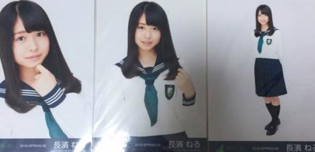 欅坂46 長濱ねる 制服のマネキン 3種コンプ