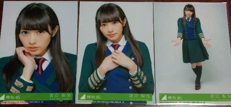 欅坂46 渡辺梨加 二人セゾン 3種コンプ ライブ・握手会グッズの画像