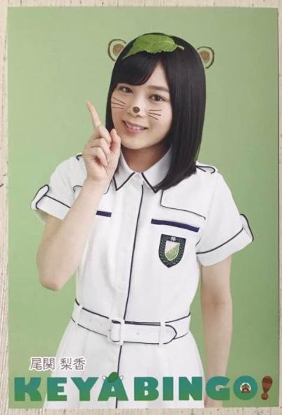 欅坂46尾関梨香KEYABINGO!ポストカード