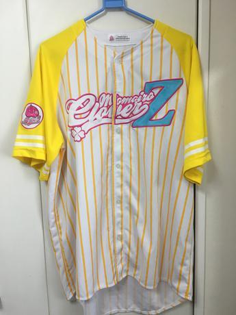 【中古品】ももクロベースボールシャツ2012 玉井詩織 ライブグッズの画像