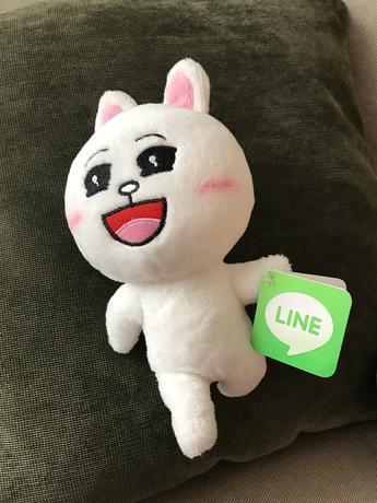 LINE コニー ぬいぐるみ グッズの画像