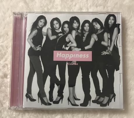 Happiness kiss me 初回限定盤CDシングル+DVD(美品) ライブグッズの画像