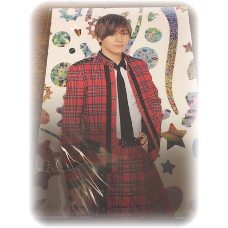 山田涼介 公式ファイル コンサートグッズの画像
