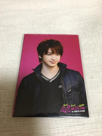 Hey! Say! JUMP Live with me 知念侑李 フォトセット コンサートグッズの画像
