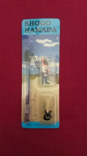 浜田省吾 ON THE ROAD2001 携帯ストラップ2 ライブグッズの画像