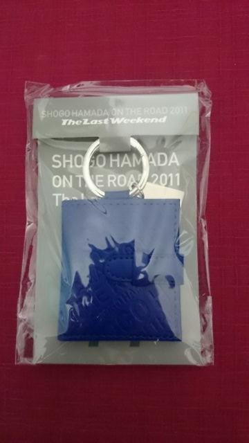 浜田省吾 ON THE ROAD2011 ピクチャーフレームキーホルダー ライブグッズの画像