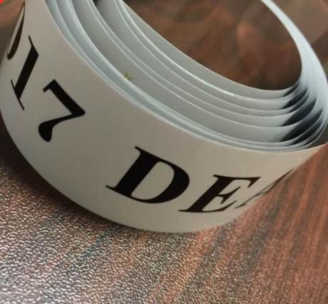 DEAR. 16-17 銀テープ 1本
