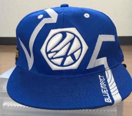 三代目JSB 24karats BLUE IMPACT cap帽子