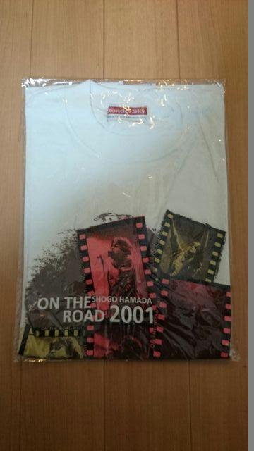 浜田省吾 ON THE ROAD2001 Tシャツ1 ライブグッズの画像