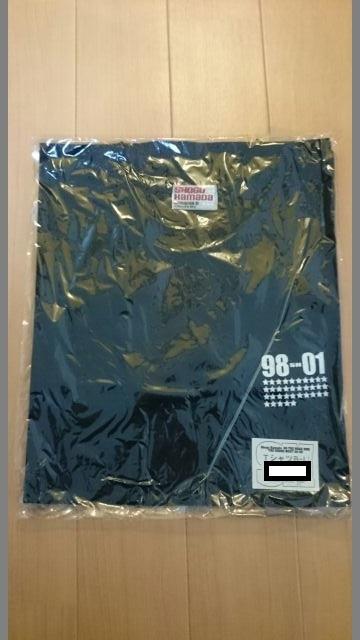 浜田省吾 ON THE ROAD2001 Tシャツ黒 ライブグッズの画像