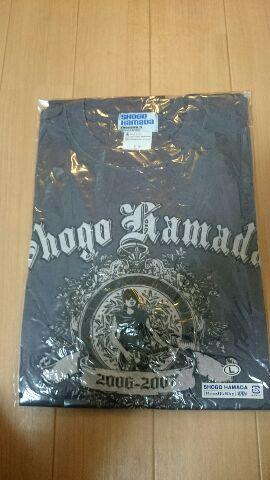 浜田省吾 ON THE ROAD2006-2007 デザイン Tシャツ2006 ライブグッズの画像