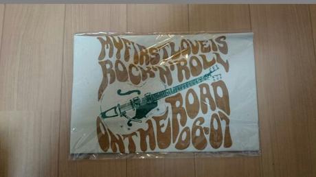 浜田省吾 ON THE ROAD2006-2007 エコバッグ ライブグッズの画像