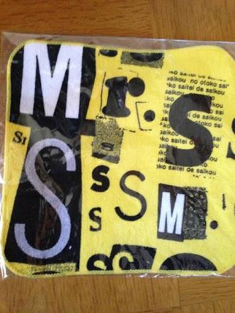 SMAP Mr.S ミニタオル コンサートグッズの画像