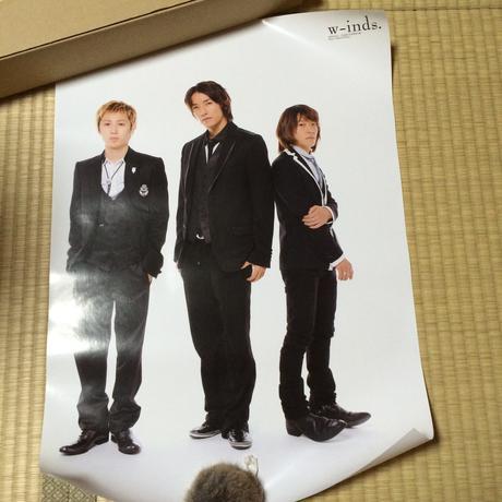 w-inds. アニバーサリー ポスター② ライブグッズの画像