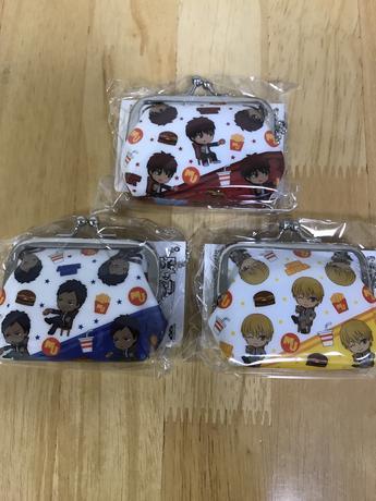 黒子のバスケ 財布3個セット
