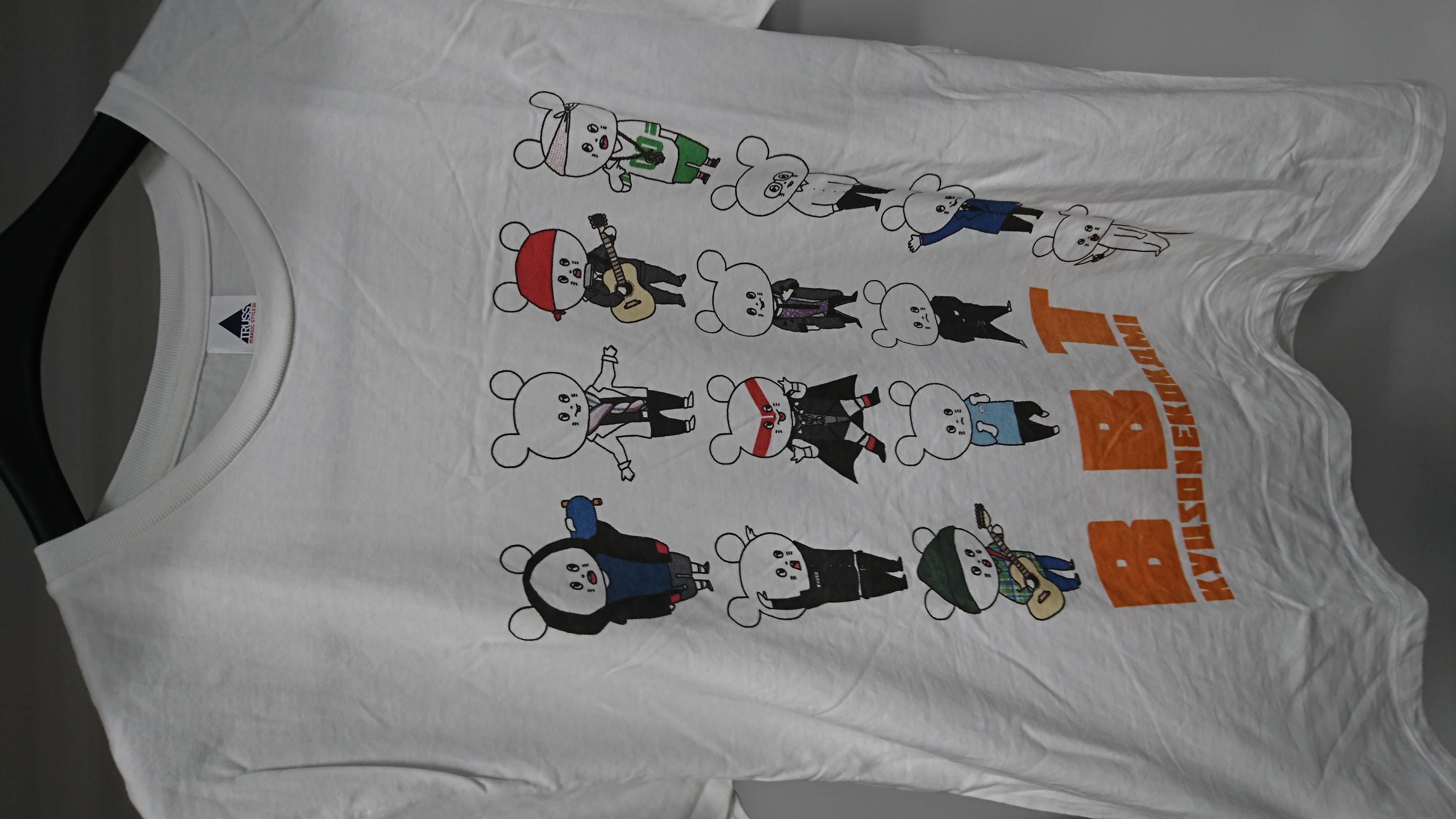 【複数購入割引】キュウソネコカミ Tシャツ