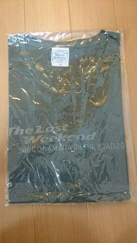 浜田省吾 ON THE ROAD2011 TLW Tシャツ Mサイズ ライブグッズの画像