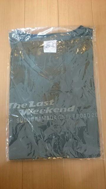 浜田省吾 ON THE ROAD2011 TLW Tシャツ Lサイズ ライブグッズの画像