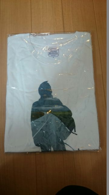 浜田省吾 ON THE ROAD2011 シルエット Tシャツ Mサイズ ライブグッズの画像