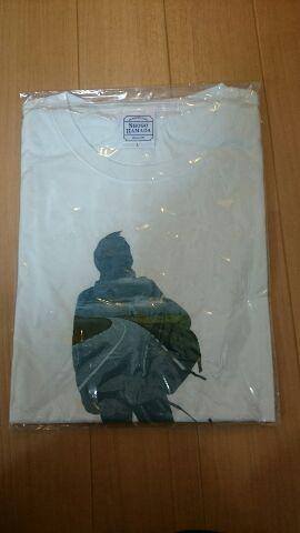 浜田省吾 ON THE ROAD2011 シルエット Tシャツ Lサイズ ライブグッズの画像
