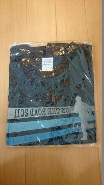 浜田省吾 ON THE ROAD2011 ツアー Tシャツ Lサイズ ライブグッズの画像