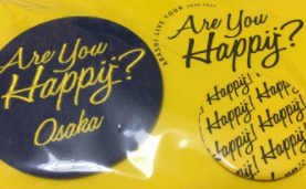 嵐 Are You Happy? 缶バッチ 黄