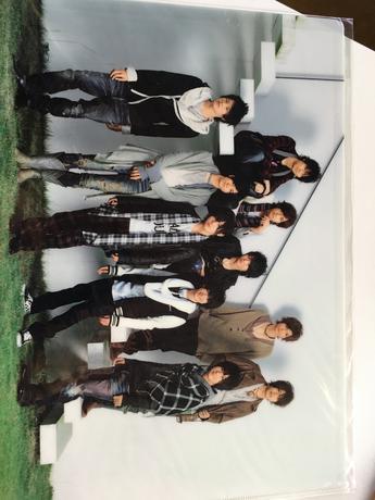 Hey!Say!JUMPクリアファイル コンサートグッズの画像